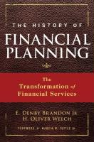 The History of Financial Planning