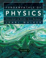 Fundamentals of Physics, Chapters 1-20