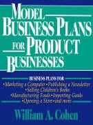 Model Business Plans for Product Businesses