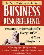 New York Public Library Business Desk Reference