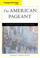 The American Pageant: A History of the American People