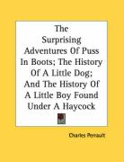 The Surprising Adventures of Puss in Boots; The History of a Little Dog; And the History of a Little Boy Found Under a Haycock
