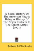 A Social History of the American Negro: Being a History of the Negro Problem in the United States (1921)