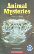 Animal Mysteries: A Chapter Book