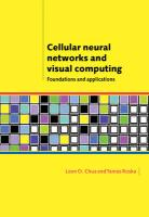 Cellular Neural Networks and Visual Computing: Foundations and Applications