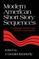 Modern American Short Story Sequences