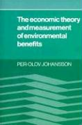 The Economic Theory and Measurement of Environment Benefits