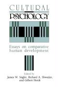 Cultural Psychology: Essays on Comparative Human Development