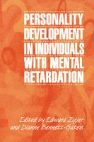 Personality Development in Individuals with Mental Retardation