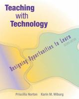 Teaching with Technology: Designing Opportunities to Learn (with Infotrac) [With Infotrac]