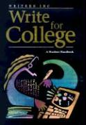 Great Source Write College: Softcover College Handbook