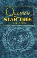 Star Trek: Quotable Star Trek