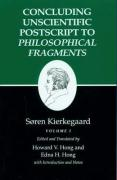 Kierkegaard's Writings, XII: Concluding Unscientific PostScript to Philosophical Fragments, Volume I
