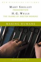 Making Humans: Frankenstein and the Island of Dr. Moreau