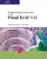 Microsoft Visual Basic 6.0: Games Programming