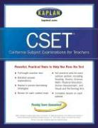 Kaplan Cset: The California Subject Examination for Teachers