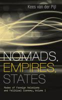 Nomads, Empires, States: Modes of Foreign Relations and Political Economy: 1