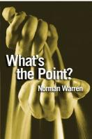What's the Point?: Finding Answers to Life's Questions