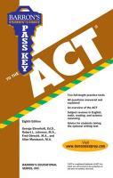 Pass Key to the ACT