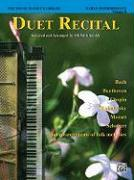 The Young Pianist's Library: Duet Recital Book