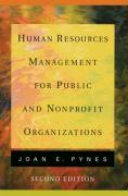 Human Resources Management for Public and Nonprofit Organizations