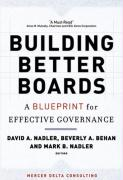 Building Better Boards: A Blueprint for Effective Governance