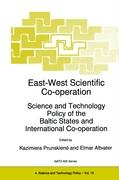 East-West Scientific Co-operation