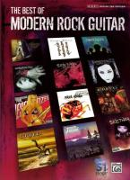 The Best of Modern Rock Guitar: Authentic Guitar Tab