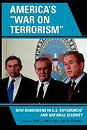 "America's ""War on Terrorism"": New Dimensions in U.S. Government and National Security"