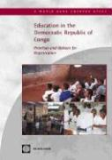 Education in the Democratic Republic of Congo: Priorities and Options for Regeneration