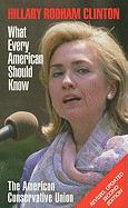 Hillary Rodham Clinton: What Every American Should Know