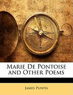 Marie de Pontoise and Other Poems