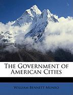 The Government of American Cities