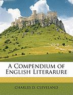 A Compendium of English Literarure