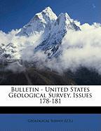 Bulletin - United States Geological Survey, Issues 178-181