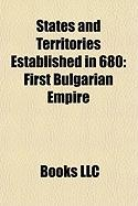 States and Territories Established in 680: First Bulgarian Empire, Seisyllwg