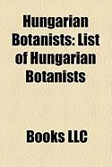 Hungarian Botanists: List of Hungarian Botanists