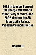 2002 in London: Concert for George