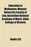 Education in Melbourne: Monash University Faculty of Law
