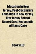 Education in New Jersey: Post-Secondary Education in New Jersey