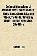 Defunct Magazines of Canada: Western Standard