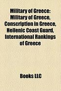 Military of Greece: Conscription in Greece