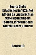Sports Clubs Established in 1928: Aek Athens B.C.