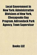 Local Government in New York: Administrative Divisions of New York