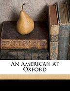 An American at Oxford