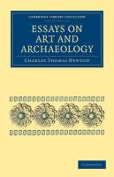 Essays on Art and Archaeology