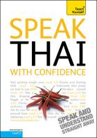 Teach Yourself Speak Thai with Confidence (Teach Yourself Conversations)