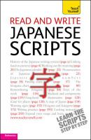 Teach Yourself. Read and write Japanese scripts