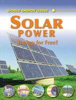 Solar Power: Energy for Free?. Jim Pipe
