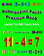 Subtraction Facts Practice Book